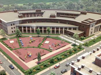 Собственная школа на территории комплекса